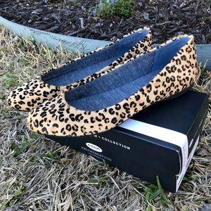 Dr Scholl's Giorgie Cheetah Flats